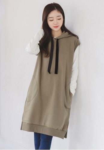 無袖衛衣連衣裙zalora 台灣, 服飾, 洋裝