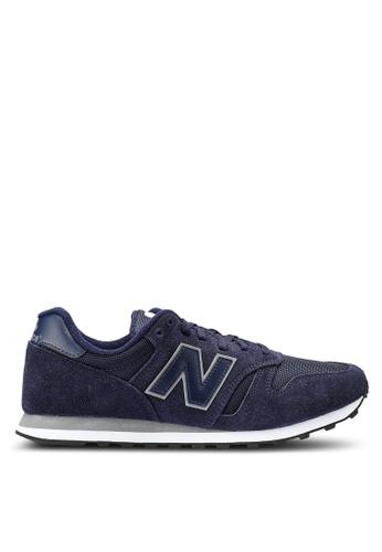 New Balance black 373 Lifestyle Shoes F8469SHF29DF35GS_1