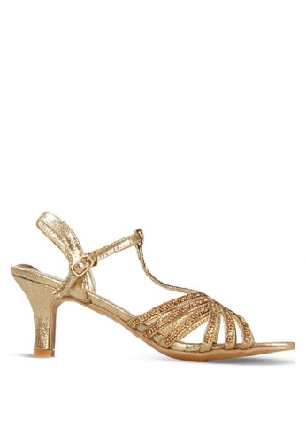CLARETTE gold Clarette Heels Kailey - Gold CL076SH51CSYID_1