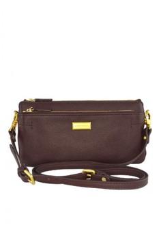 Vincci Leather Wristlet