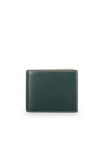 Samuel Ashley green Jackson Bi-fold Wallet (RFID) - Loden 75462AC008464BGS_1