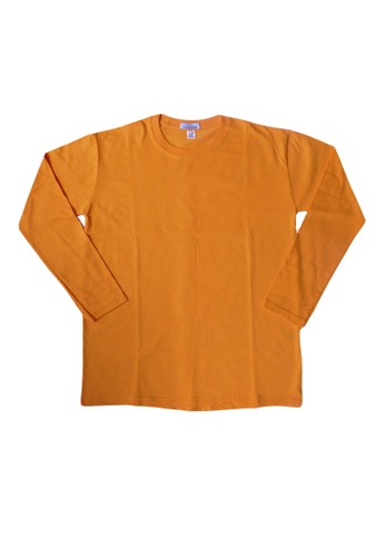 Hangdeb yellow T-SHIRT POLOS E272AAA9C8C7E8GS_1