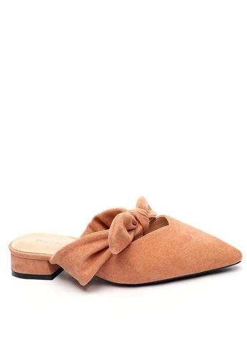 Twenty Eight Shoes Big Bow Mules 903-9 62D81SH2FE2B28GS_1