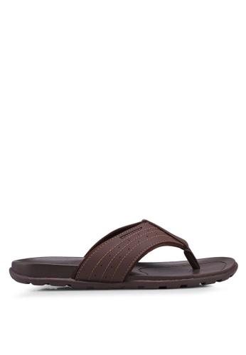 Weinbrenner brown Casual Slide On Sandals BFE79SH61043EFGS_1