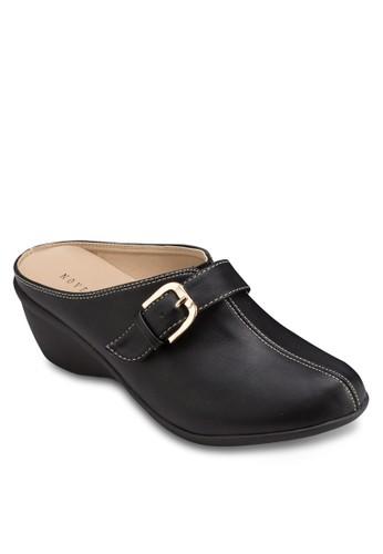 楔型跟扣環懶人鞋, 女esprit hk store鞋, 鞋