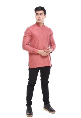 Amar Amran pink Kurta Qardhawi 78550AAEA41AE4GS_1