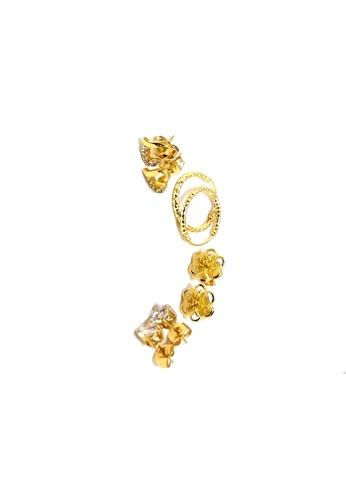 KLF white Ladies Bundle Earrings Styles Popular 1 By KLF KL134AC43KEAMY_1