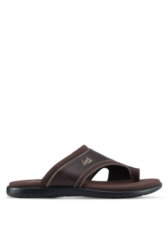 Louis Cuppers brown Casual Sandals 293A7SH5950FFEGS_1