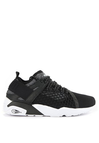 Puma black Trinomic Netfit Shoes PU245SH0WDCAID 1 f37badbf53