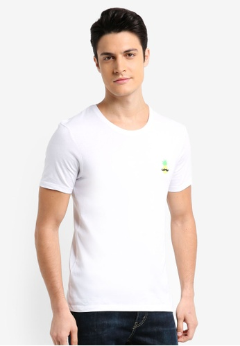ESPRIT white Short Sleeve T-Shirt 03E06AAF48B23CGS_1