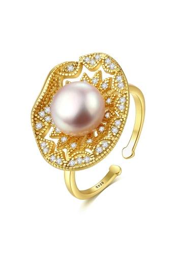 A.Excellence purple Premium Purple Pearl Ring 888B5AC2303409GS_1