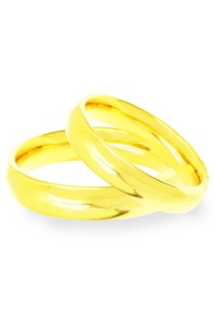 Gold Plated Couple Ring