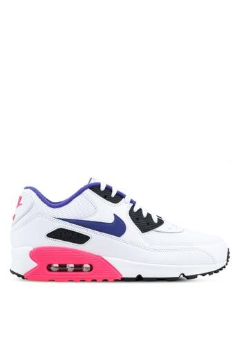 Nike white Men's Nike Air Max 90 Essential Shoes FD35CSH8A54126GS_1