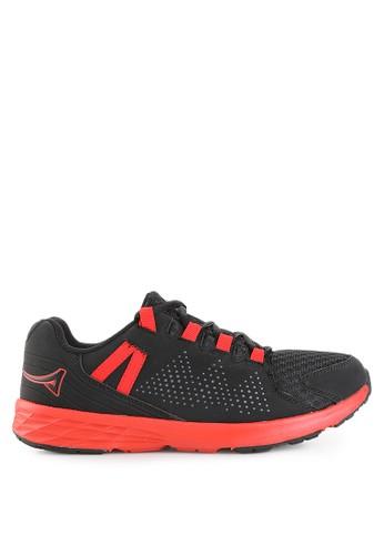 Ardiles black Men Malovic Running Shoes AR073SH0UM1AID_1