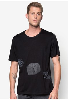 Surreal Floating Cube Tee