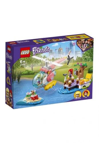 LEGO multi LEGO Friends 41692 Vet Clinic Rescue Helicopter (249 Pieces) 05075TH1CF4E66GS_1