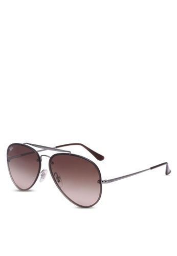 906b416e703a3e Buy Ray-Ban Blaze Aviator RB3584N Polarized Sunnies Online   ZALORA ...