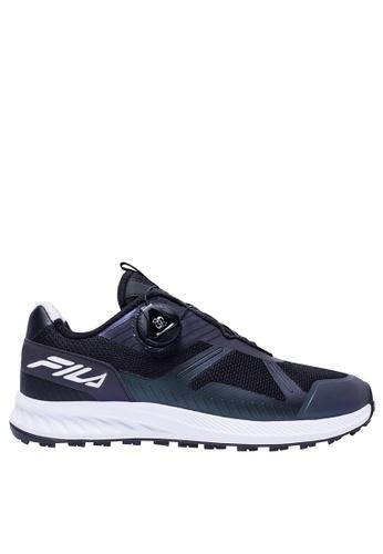 FILA black White Line Sport Shoes 8E553SHC41EAC1GS_1