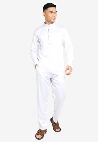 REALFANTASY white BAJU MELAYU SHAH ISKANDAR 2432CAA657E535GS_1