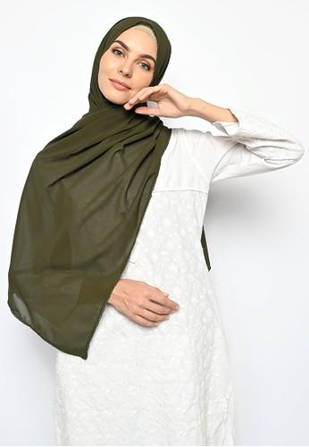 My Daily Hijab green Pasmina Cerutti Crochet Army 22457AA094121BGS_1