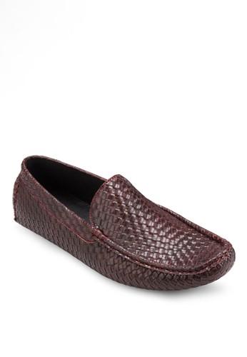 Franesprit分店地址ce Collection 編織方頭樂福鞋, 鞋, 懶人鞋