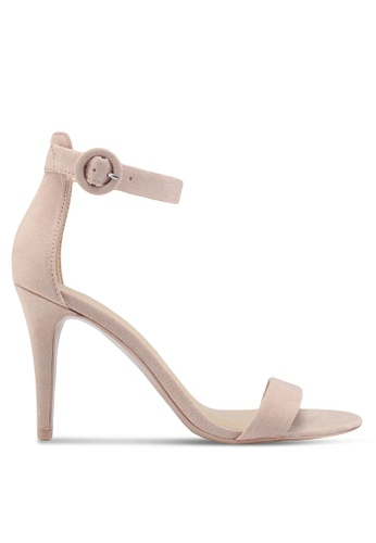 Dorothy Perkins pink Blush Bounce Heeled Sandals 7C998SH27BEDA3GS_1