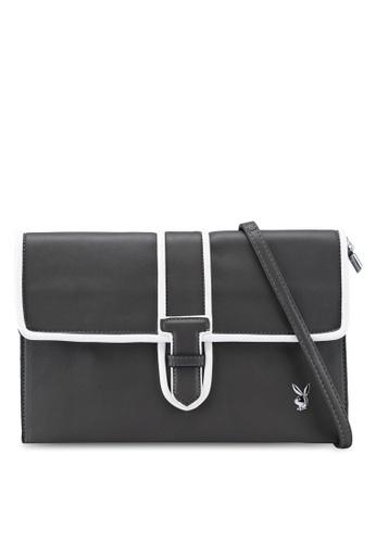 Playboy grey Playboy Clutch Bag F8295AC1C9D333GS_1