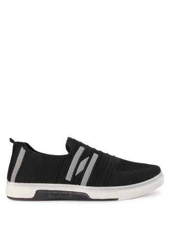 Declan black Declan Kaley Slip On Sneakers 46BFESH3A6FCFCGS_1