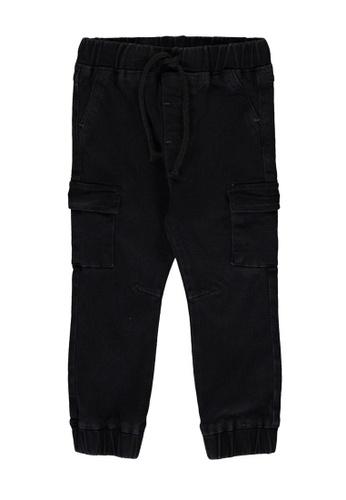 LC Waikiki grey Baby Boy Cargo Trousers FFC00KA69D1D31GS_1