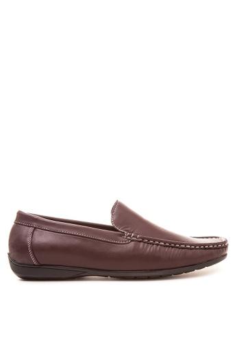 Itti brown Loafers & Moccasins IT425SH24LIXPH_1