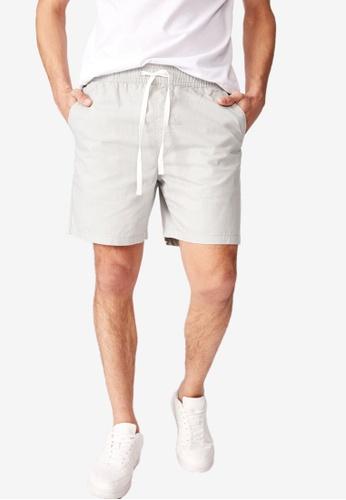 Cotton On 多色 休閒抽繩短褲 C7529AAE7C03BEGS_1
