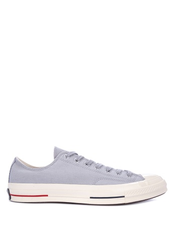 Converse grey Chuck Taylor All Star 70s Heritage Court Sneakers 3F4D5SHC57941CGS_1