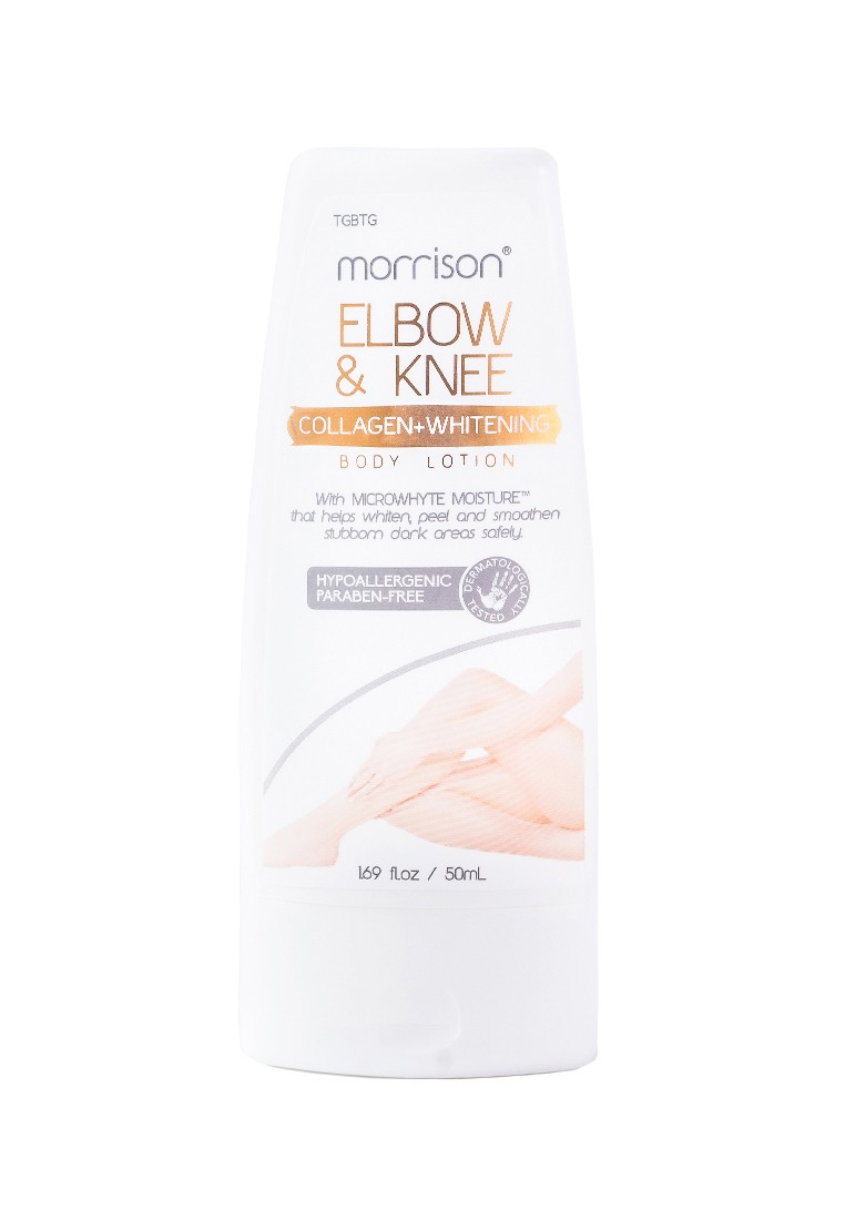 Morrison Elbow and Knee Whitening Body Lotion, 50ml + Morrison Collagen Whitening 2 in 1 Body Lotion