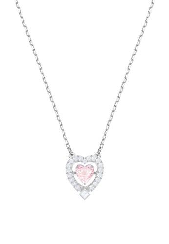 Swarovski pink Sparkling Dance Heart Necklace 939A7AC1271177GS 1 60aaec8cf