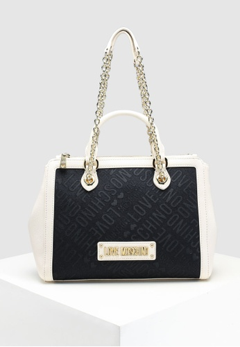 Buy Love Moschino Tess Jacquard Shoulder Bag  bc6bbbbbdd75c