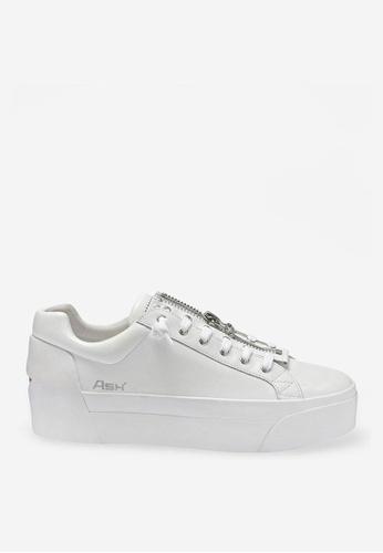 Ash white ASH Buzz Sneaker - White CBDD6SHCADA3A8GS_1