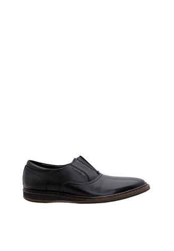 SEMBONIA black SEMBONIA Men Nappa Leather Business Shoe (Black) CC7C3SHEB2EB19GS_1