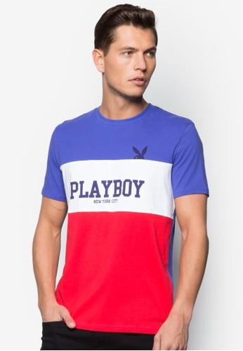 Playboy 撞色條紋TEE, esprit home 台灣服飾, 服飾