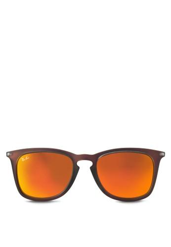 RB4221F 方框太陽眼鏡, 飾品配zalora時尚購物網評價件, 飾品配件