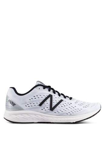 New Balance white BREA Vazee Performance Running Shoes NE323SH0RHAXMY_1