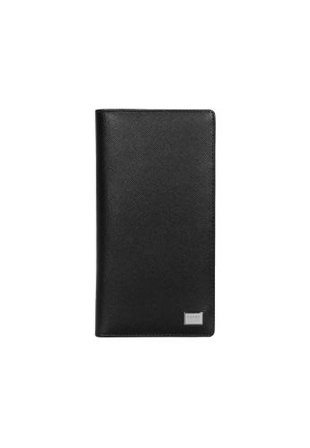 Picard black Picard Saffiano Long Wallet B26B5ACB58844BGS_1