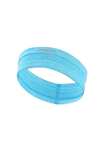 RIGORER green and blue Rigorer Sports Headband A5836ACC005888GS_1