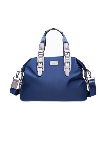 Lara blue Men's Shoulder Bag With A Cross Body Strap - Blue D054AACF07D264GS_1
