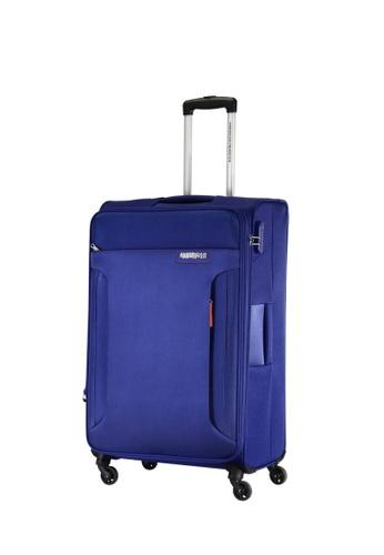 American Tourister blue American Tourister Troy Spinner 56/20 TSA AM536AC0FAI6SG_1