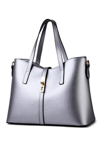 TCWK grey Ladies Handbag TC258AC89GCKMY_1