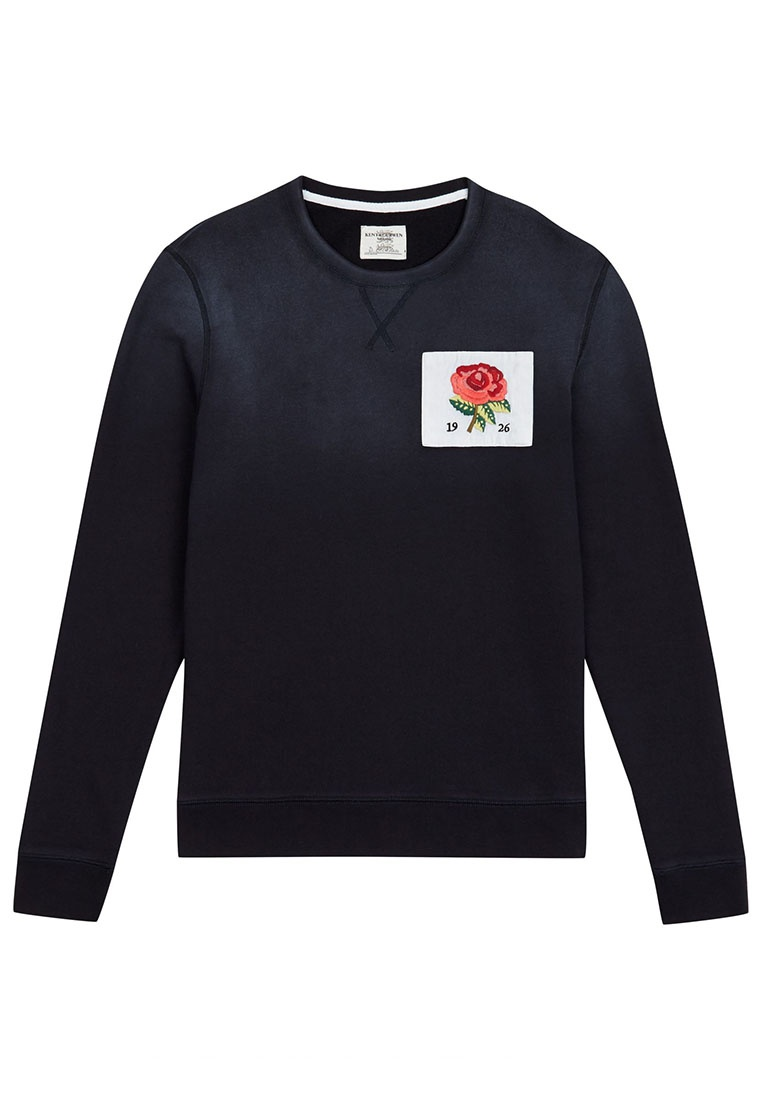 Blue and Kent 1926 Curwen Deep jersey sweatshirt PZtPqwYOx