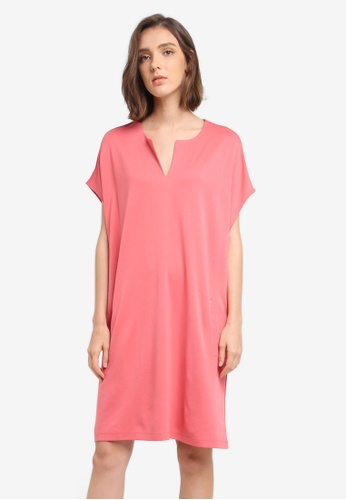 ESPRIT pink Knitted Mini Dress E4F01AA68E09A5GS_1