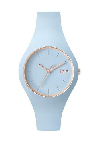 Ice Glesprit 品牌am 矽膠小圓錶, 錶類, 飾品配件