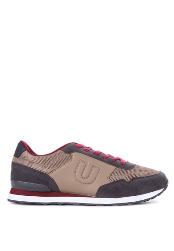 Umbro brown Trafford Lace Up Sneakers UM642SH07QLWPH_1