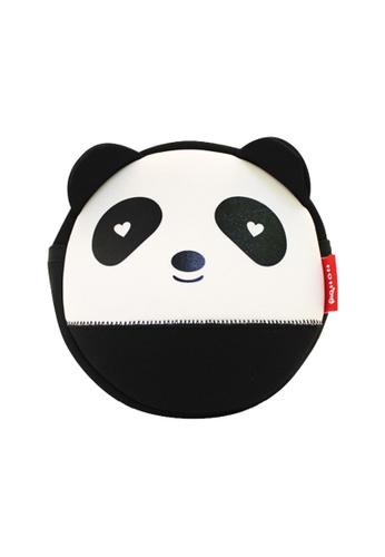 Nohoo black Nohoo Kids Sling Bag Panda (Black) 149A6KC6B6BFD6GS_1